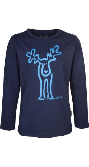 Elkline Rudööölfchen longsleeve Kinderen blauw